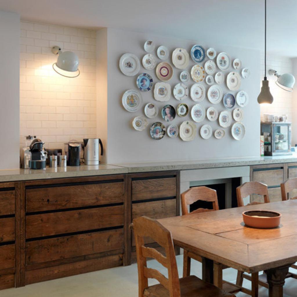 Украсить стены кухни фото Дизайн & Интерьер 2017